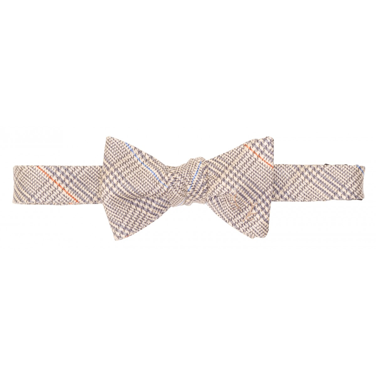 Antler Bow: Grey Herringbone
